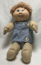 Cabbage Patch Kid Doll Authentic 1985 Blue Jumper W/ Elephant Vintage Collector