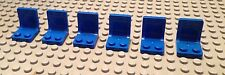 / Lego Lot Of 6 Seats/ Blue / Race Car/ House/ Spaceship/ Plane/ Star Wars /