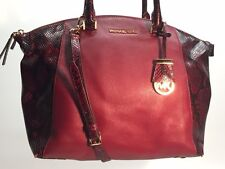 MICHAEL KORS RILEY LARGE SATCHEL HANDBAG BAG