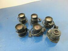 Lot Of 6 Tamron 5.0-50mm 1:1.4 1/3 CCTV CS Aspherical Camera Lens Attachment