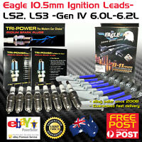 EAGLE 10.5 IGNITION LEADS & PLATINUM SPARK PLUGS Fits Commodore VZ -VF LS2 6.0L