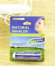 Natural Inhaler, Quick Action, Helps Nasal Passages, Natural Blend, 500mg