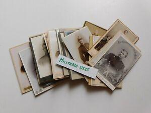 Originales Lot Portraits CDV um 1900 nur  Bayern Soldaten versch. Regimenter