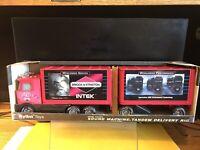 "1999 NYLINT BRIGGS & STRATTON SOUND MACHINE TANDEM DELIVERY RIG NIB 20"" LONG"