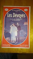 """Les dévoyés (d'après la pièce """"La Nuit du 3"""" - J. Renez - Jules Tallandier, 1926"""