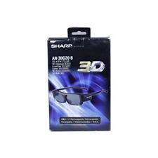 Genuine Sharp AN-3DG20-B 3D Glasses For Sharp AQUOS LC60LE830X LC52LE830X Tv