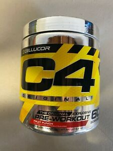 SEALED!!! Cellucor C4 Fruit Punch 60 Servings ID Series Pre-Workout EXP: 05/2022