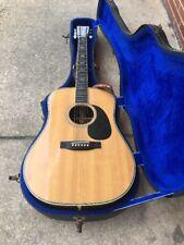 Vintage Sigma DR-41 Made In JAPAN Acoustic Guitar - RARE W HARD CASE