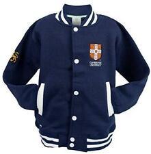 Cambridge University Official Licensed Kids Unisex Baseball Varsity Jacket Colou