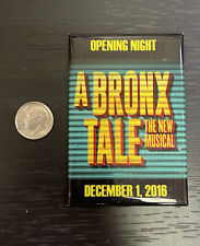 A BRONX TALE Broadway Musical OPENING NIGHT Cast Gift MAGNET! Chazz Palminteri