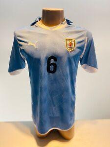 Uruguay Match Worn # 6 Victorino