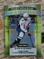 2018-19 UD Upper Deck Synergy Postseason Perfection GREEN Alex Ovechkin #157/199