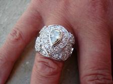 TOP Ring 750 Gold 1 + 68 Diamanten insg. 3,60 ct Anello Bague Oro 18K ca. 18,7 g