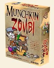 Munchkin Zombi, Gioco di Carte Raven, Nuovo, Italiano