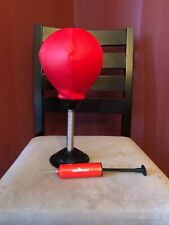 Desktop Punching Bag with Suction Cup ~ Stress Relief ~ Pre-Owned