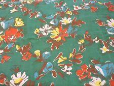 Tissu, Ancienne cretonne pour quilt , travaux H 170 cm x larg 70 cm Réf /M16
