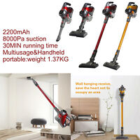 2-in-1 Cordless Vacuum Cleaner Long Lasting  Lightweight Stick Handheld Bagless