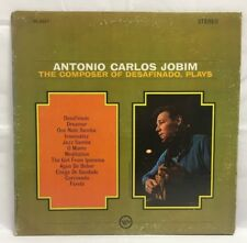 Antonio Carlos Jobim–The Composer Of Desafinado Plays Vinyl W/inner sleeve