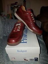 BNIB Rockport Prowalker 7100 LTD Lace up Walking Sneaker Burgundy Mens size 13