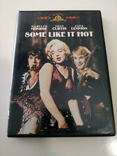 Some Like It Hot (Dvd, 2001, Not Rated, Widescreen) Marilyn Monroe & Tony Curtis