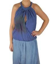 Waist Length Silk Crew Neck Sleeve Tops & Shirts for Women