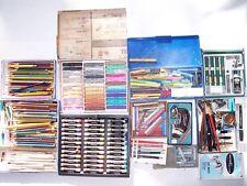 Huge LOT - ART SUPPLIES : drawing, rendering, caligraphy, technical, mat cutter+