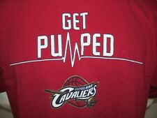 Used 2000s SGA Get Pumped Playoffs Cleveland Cavaliers NBA Screened T-Shirt XL