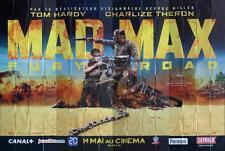 MAD MAX : FURY ROAD - HARDY / THERON / CAR - RARE 8 PANELS POSTER BILLBOARD