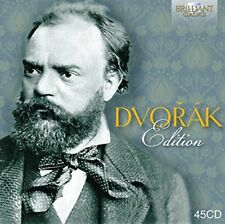 DVORAK EDITION 45 CD NEW! DVORAK,ANTONIN