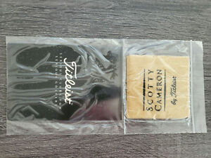 Titleist Scotty Cameron Putter Cleaner Oil cloth BRAND NEW