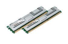 2x 8gb 16gb di RAM FBDIMM per Dell Precision r5400 490 690