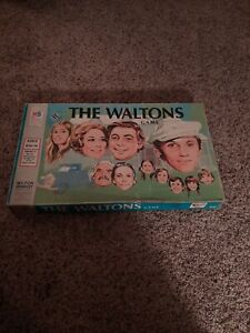 The Waltons Board Game 1974 MB Vintage Retro TV Show 100% Complete Nice