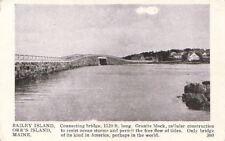 Postcard Bailey Island Orr's Island ME
