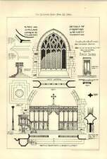 1900 Village Church Details Design Of Furniture West Window Design Club