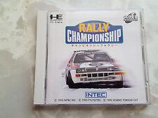 PC Engine/TurboGrafX CD Rally Championship-JPN