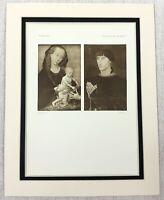 1927 Antique Print Virgin Mary Rogier van der Weyden Painting Philippe de Croy