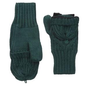 Under Armour UA ColdGear Ladies Gloves Green Around Town Mittens S/M