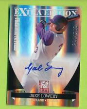 2011 Extra Edition Auto - Jake Lowery (#63)  Cleveland Indians 375/735
