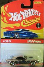 Hot Wheels Classics Series 1 #7 1968 Cougar - Chrome