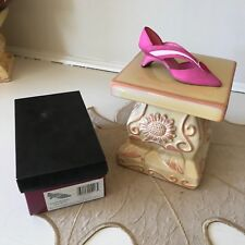 Just The Right Shoe Grand Marquise pinks jewel pump #25126 with box Raine 2001