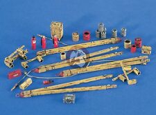 Verlinden 1/48 US Navy Carrier Flight Deck Equipment & Accessories [Resin] 2449