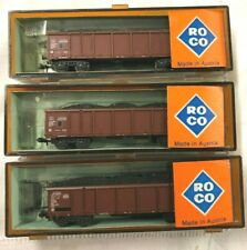 ROCO Lot 3 Trains WAGONS a TREMIE SNCF echelle N ref 02368 C Marchandise R14