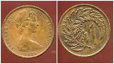 NOUVELLE ZELANDE 1 cent 1974