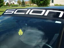 Scion Windshield Decal Sticker fr-s tc xb s