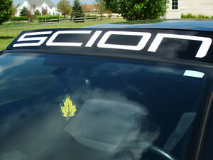 Scion Windshield Decal Sticker fr-s tc xb s
