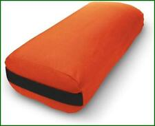 Bean Products Yoga Bolster - Made in The USA with Eco Friendly Materials -