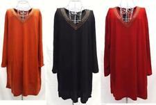 Winter V-Neck Plus Size Dresses for Women