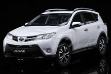 Diecast Car Model Toyota New RAV4 1:18 (White)  + GIFT!!