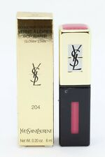 YSL YVES SAINT LAURENT Rouge Pur Couture pop water glossy stain #204 205 NUEVOS