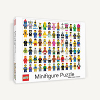 NEW Lego Minifigure 1000 Piece Jigsaw Puzzle - FREE SHIPPING